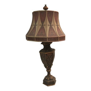 Fine Art Lamps Gold Ornate Lamp For Sale