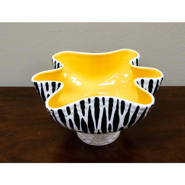 Beswick Mid-Century Zebra Stripe Planter or Bowl - Image 5 of 7