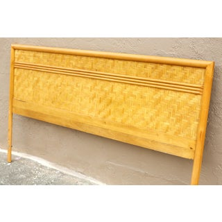 Vintage Dixie Bamboo and Rattan King Headboard Preview