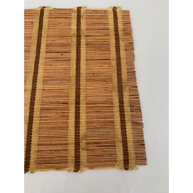 Wood Maria Kipp Style Mid-Century Wood Woven Placemats - Set of 9 For Sale - Image 7 of 8