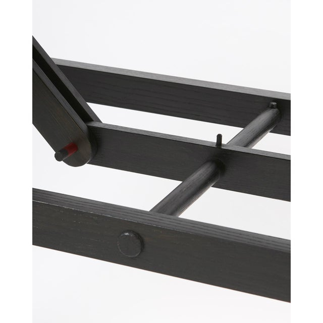 Not Yet Made - Made To Order 'Brindle' Ash Wood Console Table Handcrafted by Danny Rosa For Sale - Image 5 of 7