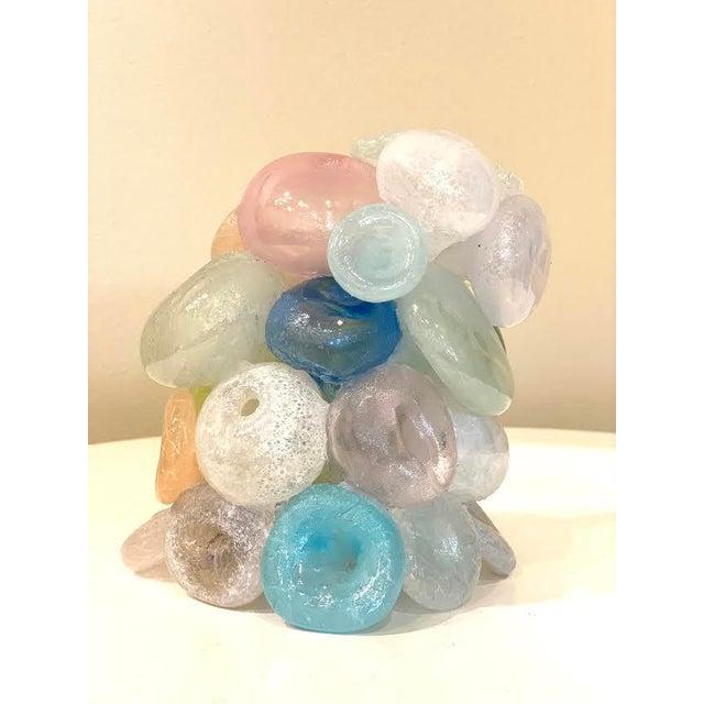 Modern Blown Glass Art Sculpture For Sale - Image 13 of 13