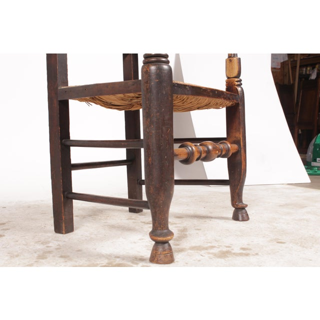 Antique Elizabethan-Style Spindle Chairs - A Pair - Image 9 of 11