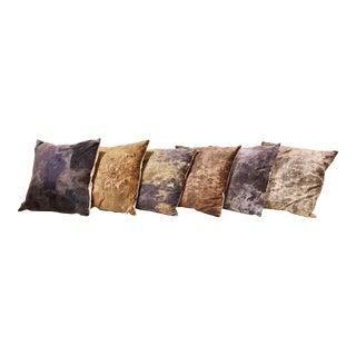 C. Heckscher Collection Decorative Throw Pillows - Set of 6 For Sale