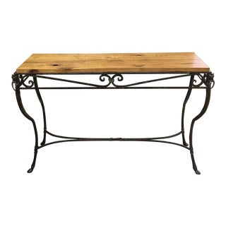 Iron Horse Head Console Table