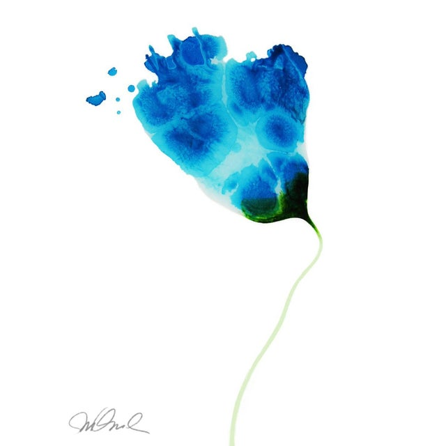 "Abstract Abstract Botanical No.1, Giclee Print 11x15"" For Sale - Image 3 of 3"