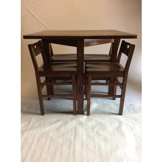 Stickley Table & Chairs Preview