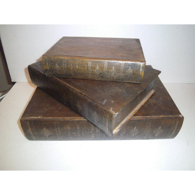 Huckleberry Finn Faux Book Boxes - Set of 3 - Image 3 of 6