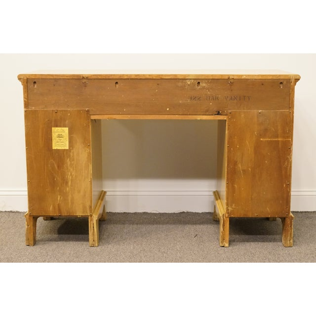 """Davis Cabinet Co. French Country Blonde 48"""" Student Desk"""