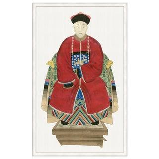 """Emperor Statuette"" Framed Print"