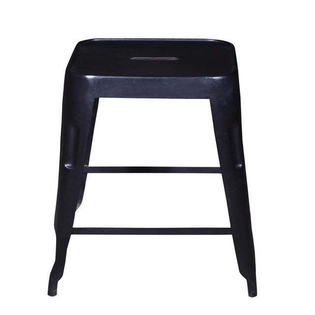 Iron Bar Stool Set of 2 - Image 3 of 4