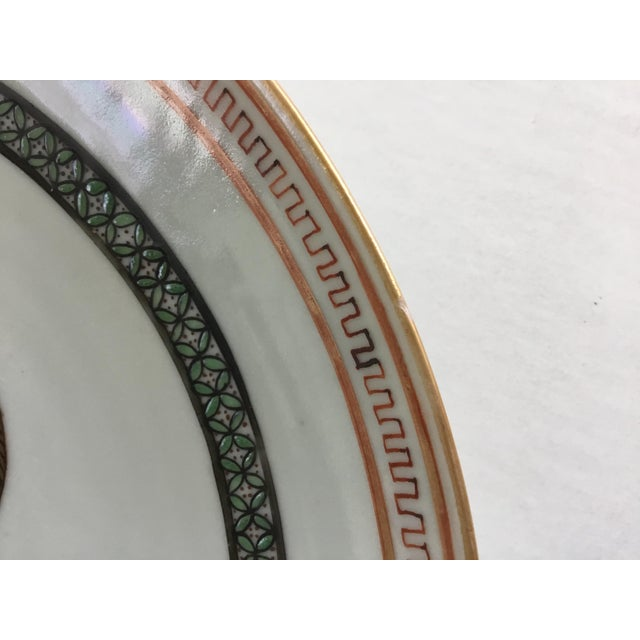 White Early 19th Century Chinese Export Plate For Sale - Image 8 of 11