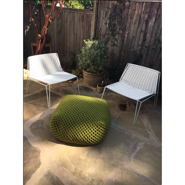 Room & Board Penelope Outdoor Loungers - A Pair - Image 6 of 8
