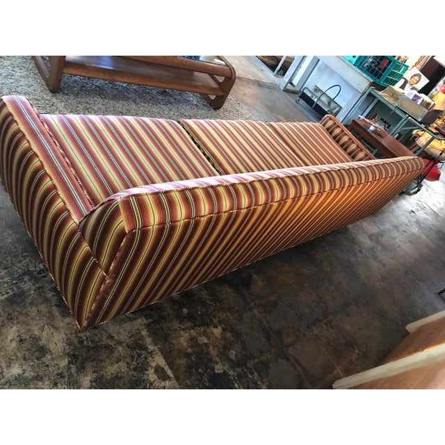 1960s Mid Century Sofa Style of Milo Baughman For Sale - Image 5 of 8