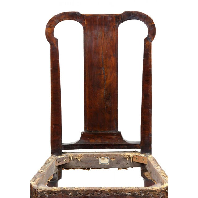 Mahogany Queen Anne Side Chair - Image 4 of 10