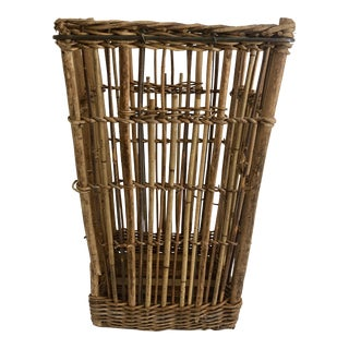 French Boulangerie Bread Basket For Sale