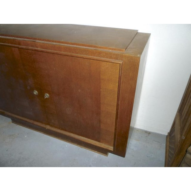 Oak Pure Design 2 Doors Cabinet For Sale - Image 4 of 5