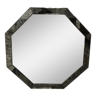 Restoration Hardware Palazzo Antiqued Glass Octagonal Mirror