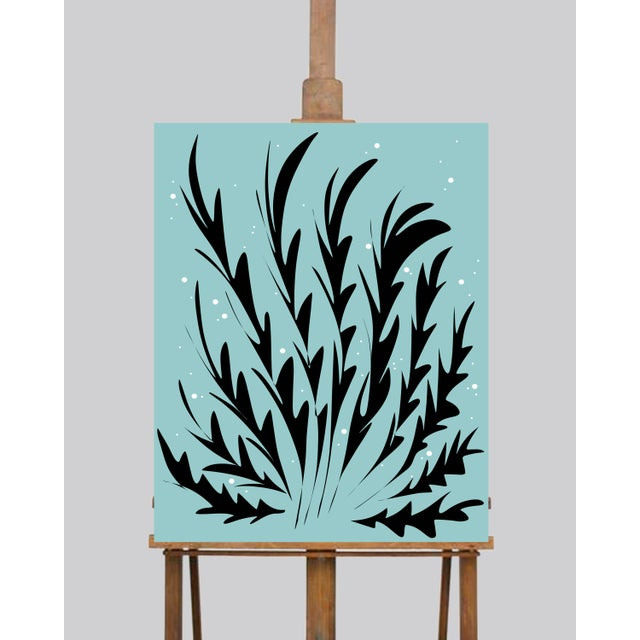 Ocean Seaweed Limited Edition Canvas Prints - Set of 3 For Sale - Image 4 of 5
