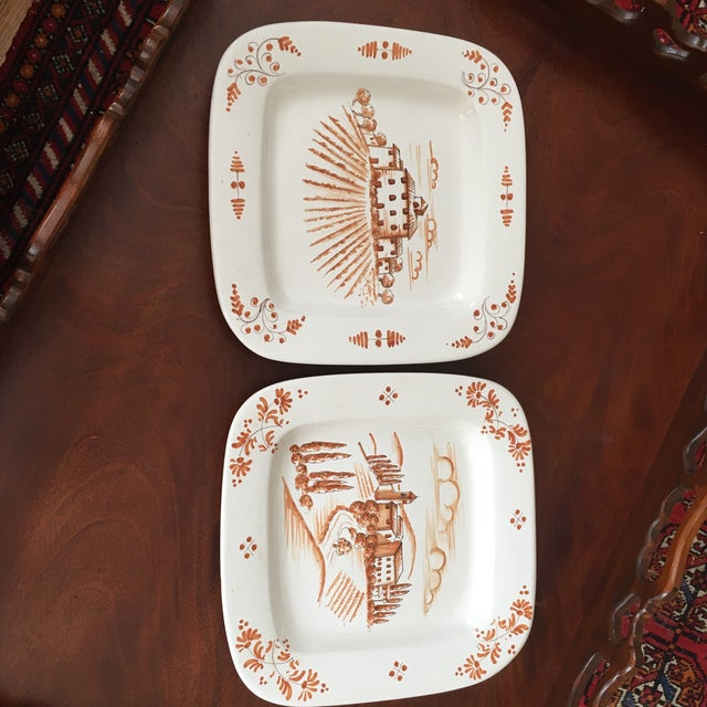 Ceramic 1980s Vintage Vietri Decorative Platters - A Pair For Sale - Image 7 of 7