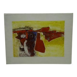 """John Lee """"Landscape III"""" Signed Print For Sale"""