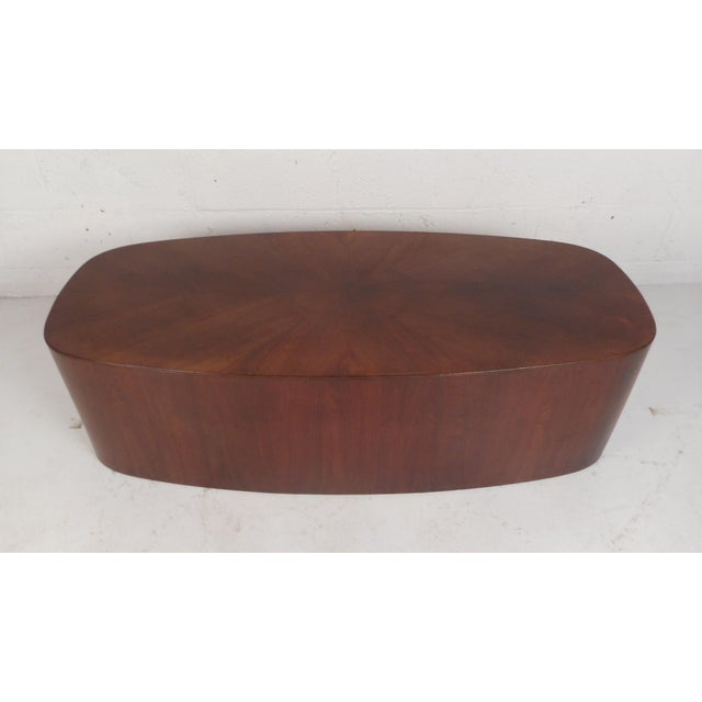 Mid-Century Modern Mid-Century Modern Oval Coffee Table For Sale - Image 3 of 12