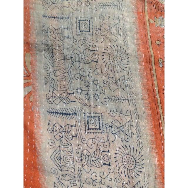 Vintage Indian Kantha Textile - Image 4 of 7