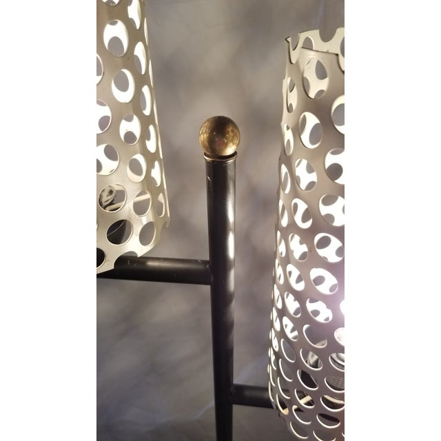 French Mid-Century Modern Floor Lamp For Sale In Chicago - Image 6 of 8