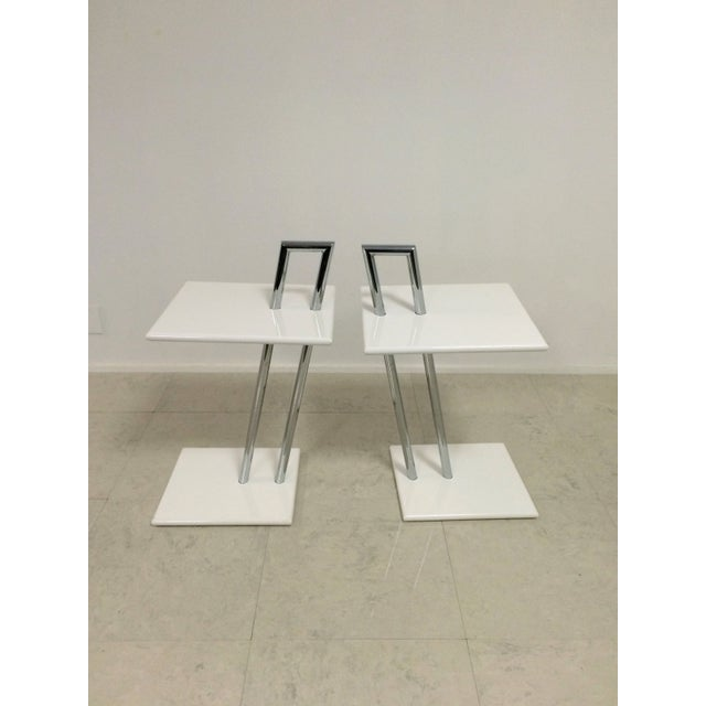Vintage Eileen Gray Occasional Tables - A Pair - Image 4 of 6