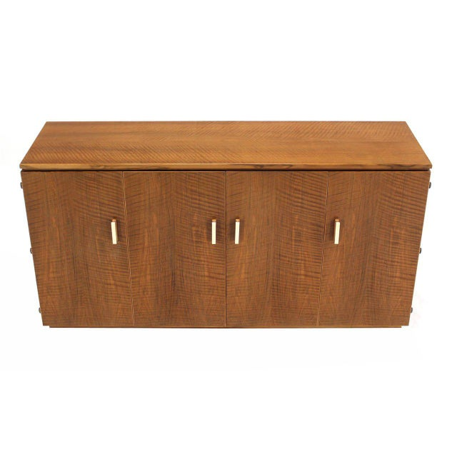 Mid-Century Modern Vintage Mid Century Tiger Maple Sideboard For Sale - Image 3 of 9