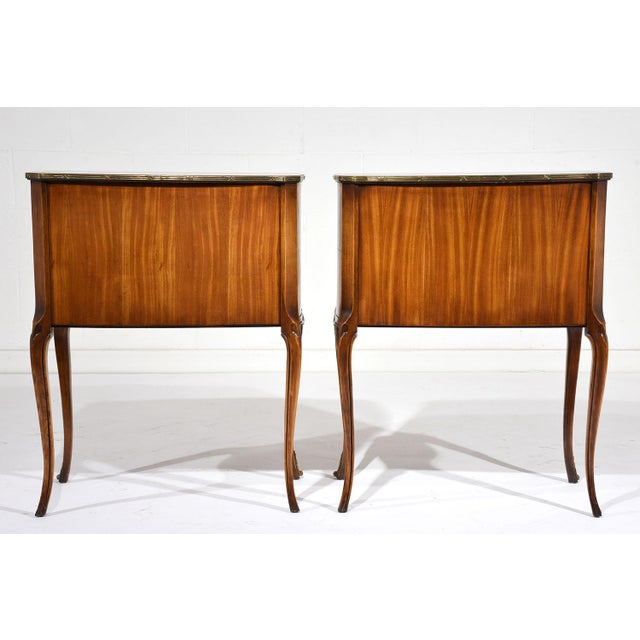 French Louis XVI-Style Commodes - A Pair - Image 10 of 10