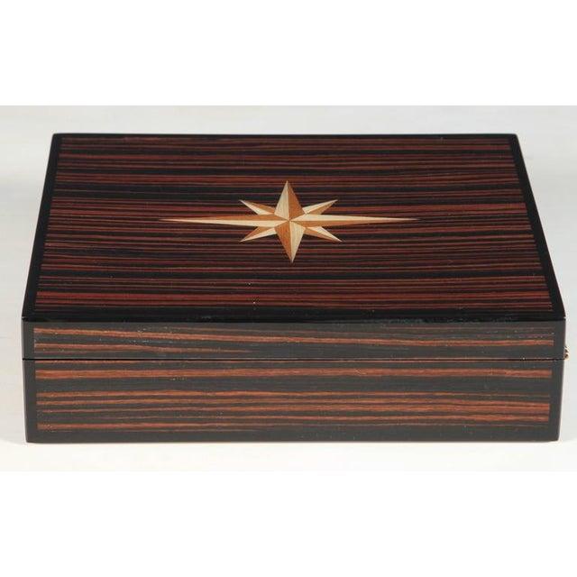 Macassar Lidded Box - Image 5 of 6