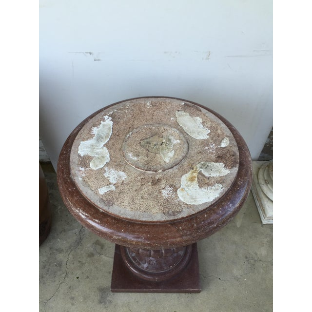 20th Century Marble Urn Form Base - Image 4 of 4