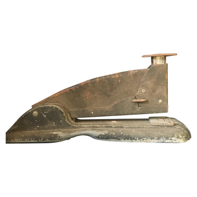 Vintage Industrial Rusty Stapler - Image 1 of 7
