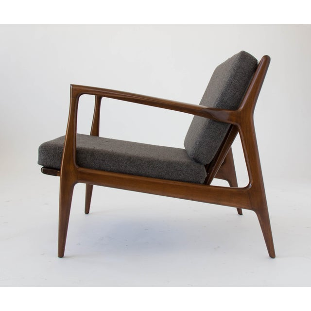 Selig Ib Kofod-Larsen for Selig Lounge Chair For Sale - Image 4 of 11