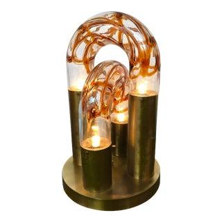 Lamp by Aldo Nason for Mazzega Murano, Italy, 1970s For Sale