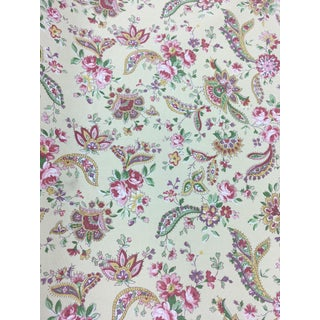 Ralph Lauren Floral Fabric - 5 1/3 Yards For Sale