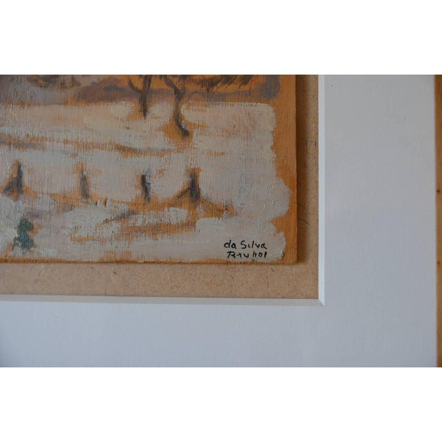 White Rare Pair of Framed Oil Paintings by Ivan Da Silva Bruhns For Sale - Image 8 of 10