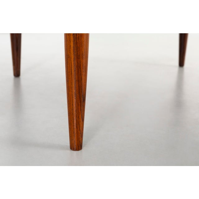 Rosewood Kurt Ostervig Mid-Century Modern Rosewood Coffee Table For Sale - Image 7 of 8