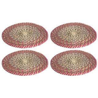 Pink Rainbow Placemats - Set of 4