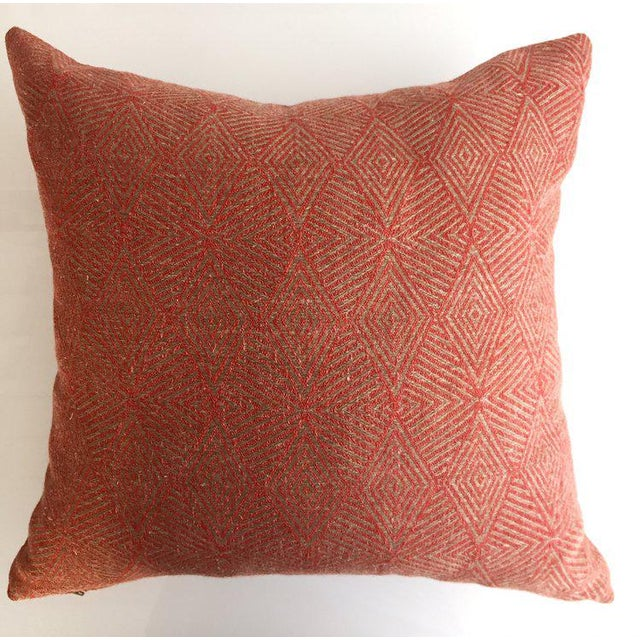 Contemporary Triad Cinnabar Pillow For Sale - Image 3 of 3