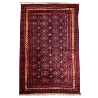 20th Century Traditional Handknotted Baluchi Rug - 4' 0 X 6' 6 For Sale