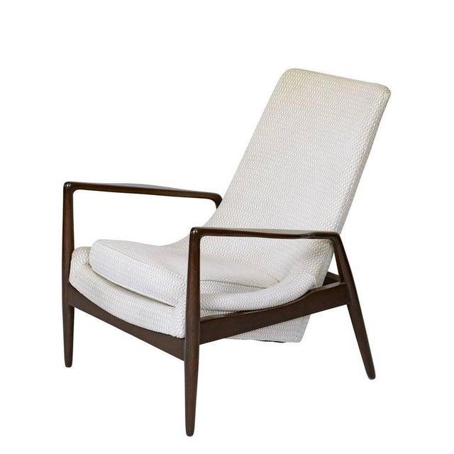 Danish Modern Danish Lounge Chair For Sale - Image 3 of 9