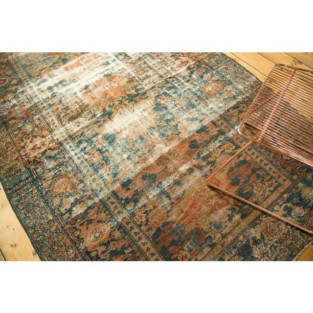 "Distressed Hamadan Carpet - 5'3"" x 7'11"" - Image 2 of 10"