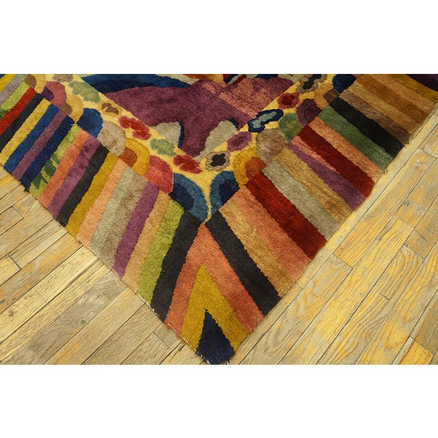 Art Deco Chinese Art Deco Rug For Sale - Image 3 of 6