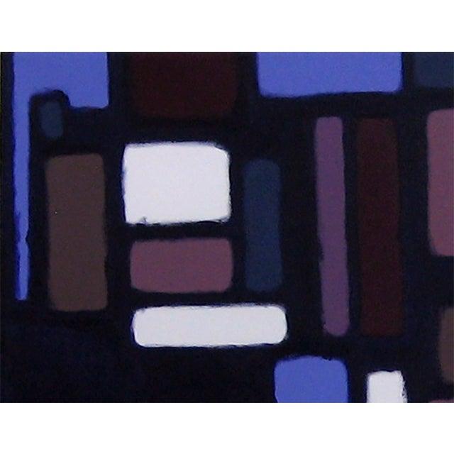 """""""Cityscene 7"""" Original Acrylic Painting - Image 3 of 3"""