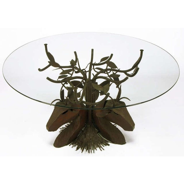 Studio Steel Sculpture Deer Trio Dining Table - Image 3 of 4