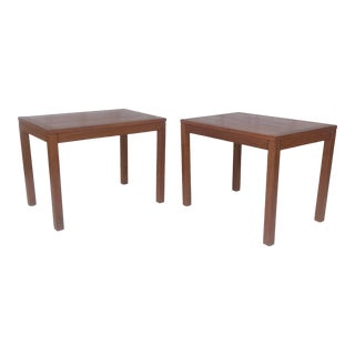 Mid-Century Teak Side Tables - a Pair For Sale