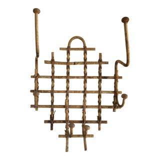Bohemian Rustic Bamboo Wall Hooks