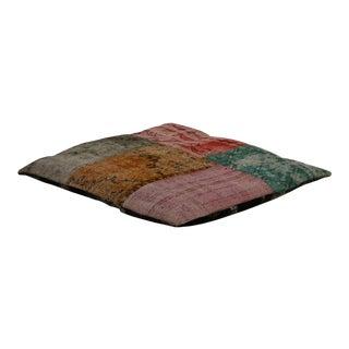 Designer Patchwork Floor Pillow For Sale